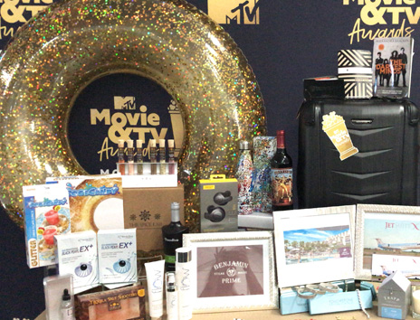 Contents of MTV Movie Awards Celebrity Gift Bags